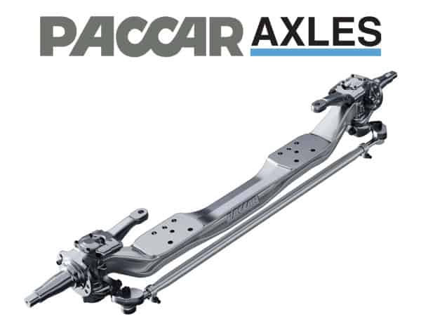 PACCAR 20k Front Axle Spec Sheet