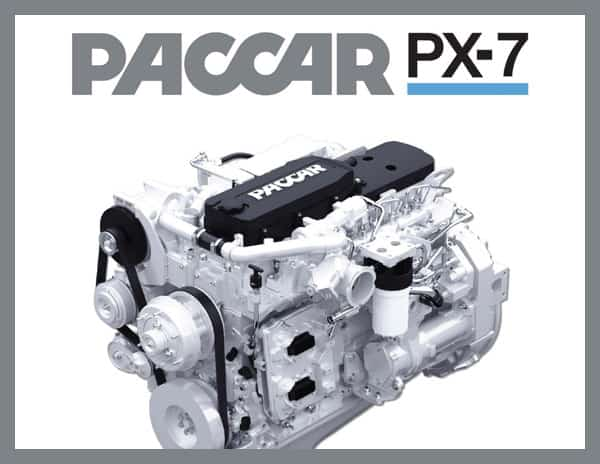 PACCAR PX-7 Engine Spec Sheet