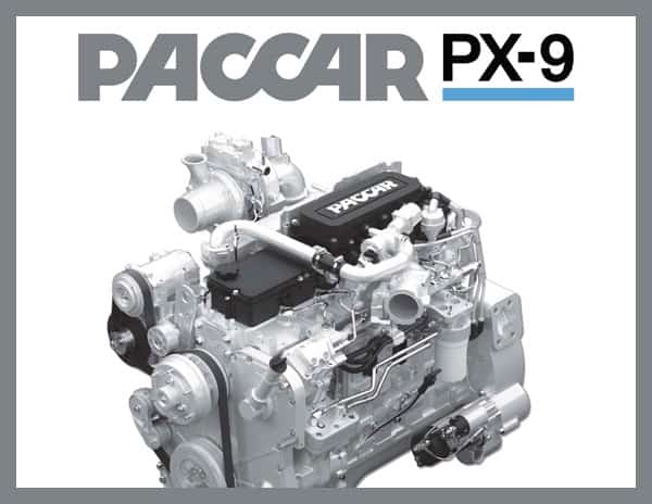 PACCAR PX-9 Engine Spec Sheet