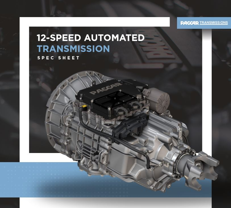 PACCAR Transmission Spec Sheet